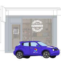 брандиране на обекти и автомобили